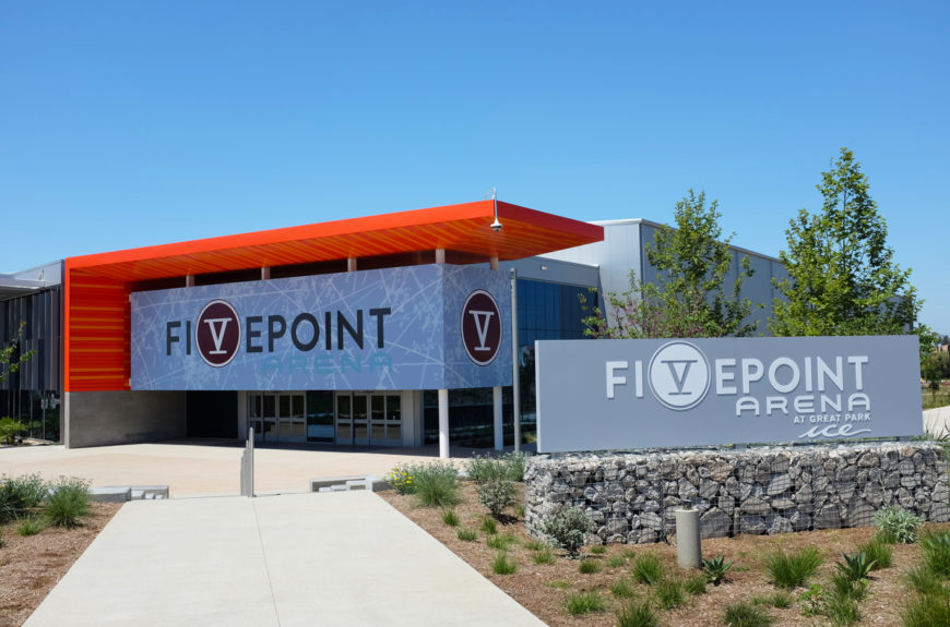 Fivepoint Arena hosts AHL matches
